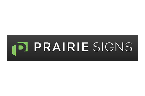 Chocolate Winterfest Sponsor Prairie Signs